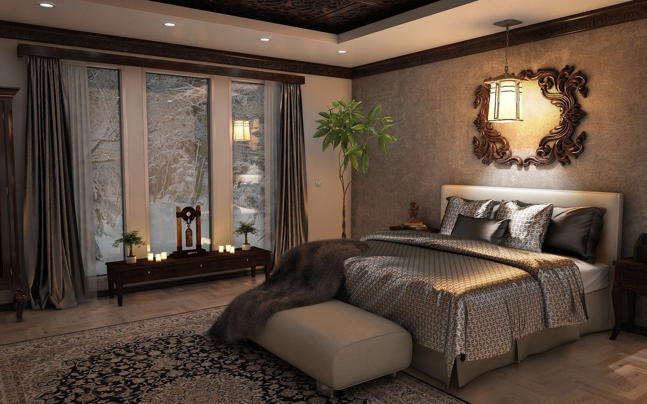 bedroom, interior, design